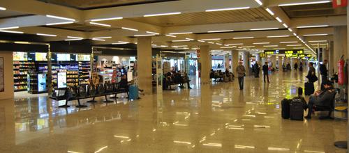 El aeropuerto de Palma concluye las obras de la planta de llegadas