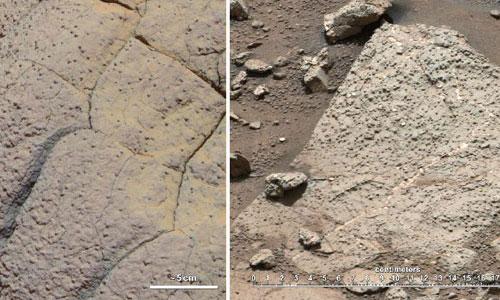 La NASA concluye que en Marte pudo haber vida