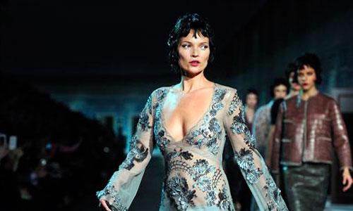 Kate Moss regresa a las pasarelas