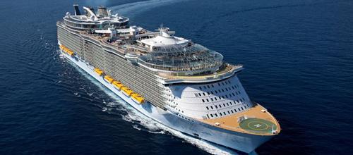 El crucero más grande del mundo amarrará en Palma