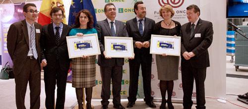 Estarás presenta en Bruselas una muestra por el aniversario de la ONCE
