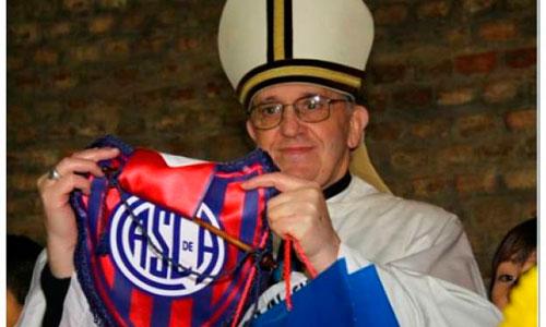 El Papa tiene el corazón azulgrana