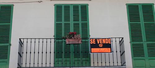 El precio de la vivienda libre en Baleares bajó un 13,8% en 2012