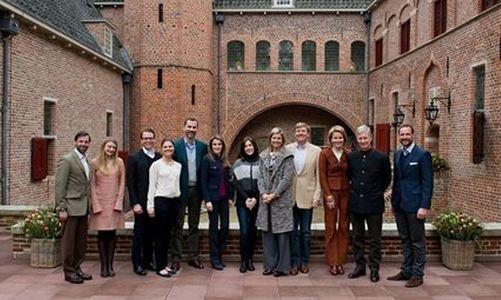 Los príncipes herederos europeos se reúnen en Holanda
