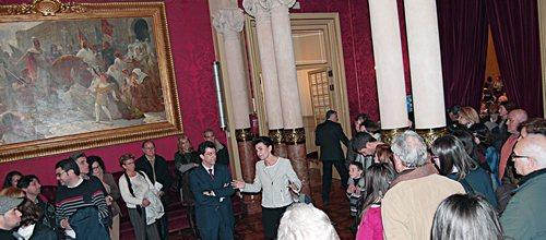 Más de 1.300 visitas en el Parlament en la jornada de puertas abiertas