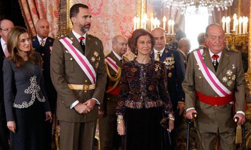 El 78,5% de la población está a favor del reinado de Juan Carlos I