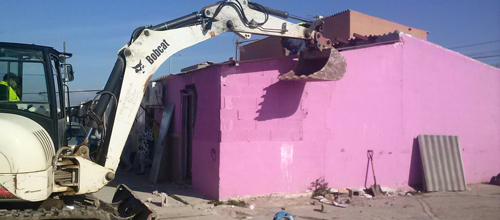 Al suelo las casas ilegales de Son Banya