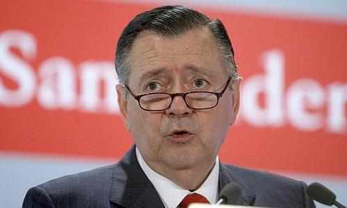 Alfredo Sáenz abandona el Grupo Santander