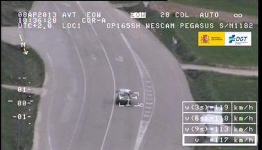 Pegasus,  el implacable vigilante de los infractores de tráfico