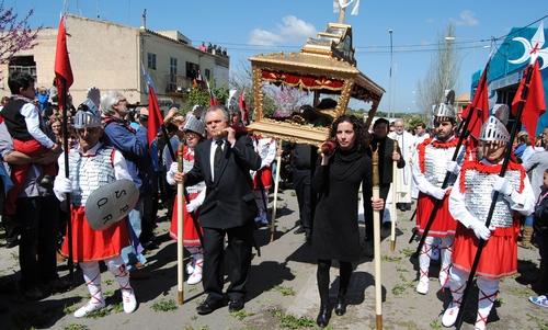 25 años después, el Sant Crist de Manacor vuelve a Porto Cristo
