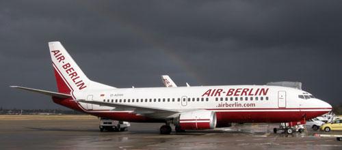 Air Berlin ya no volará este verano a Barcelona, Madrid y Santiago