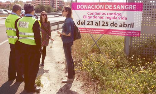 Maratón de donación de sangre en Son Castelló y Can Valero