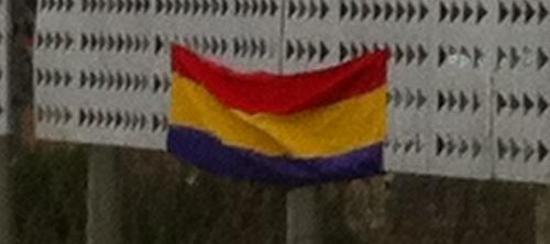 Proliferación de banderas republicanas en Palma
