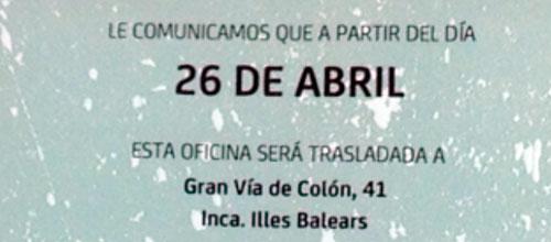 Bankia manda a Inca a sus clientes de Son Castelló