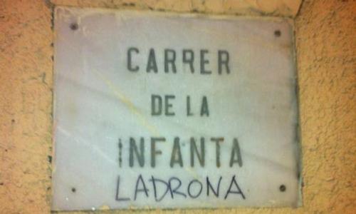 La infanta tiene nueva calle en Palma