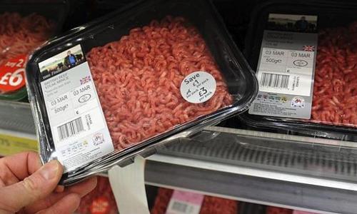 Retiradas 50.000 tn de carne sospechosa de contener caballo