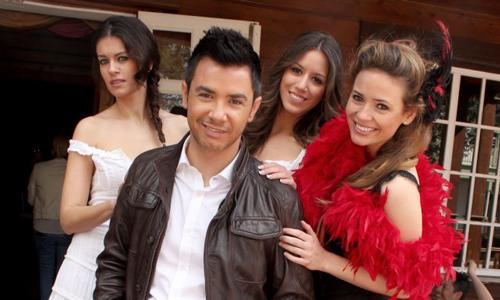 David Civera graba su último videoclip en el Western Park