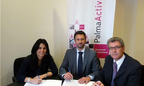 PalmaActiva y Cobega se dan la mano para la formación de jóvenes