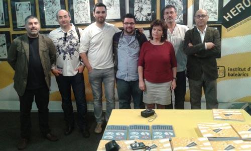 Tres artistas mallorquines exponen en el Salón del Cómic de Barcelona