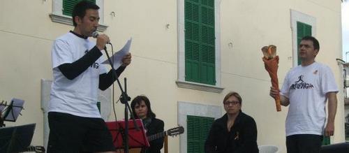 La llama del Correllengua recorre los pueblos de Mallorca a favor del catalán