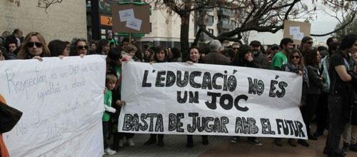 Huelga general educativa para el 9 de mayo