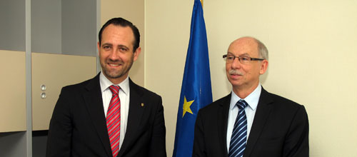 Bauzá reclama en Estrasburgo ayudas europeas al desempleo