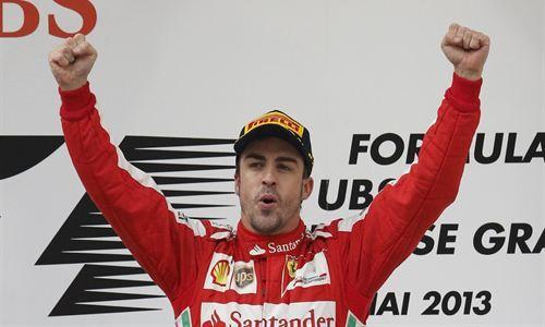 Exhibición de Alonso en China para entrar en la historia
