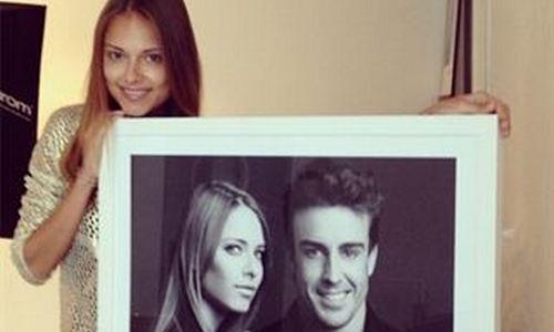 Fernando Alonso y Dasha Kapustina más felices que nunca
