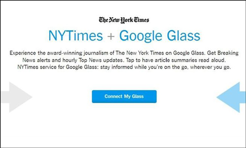 The New York Times llega a Google Glass