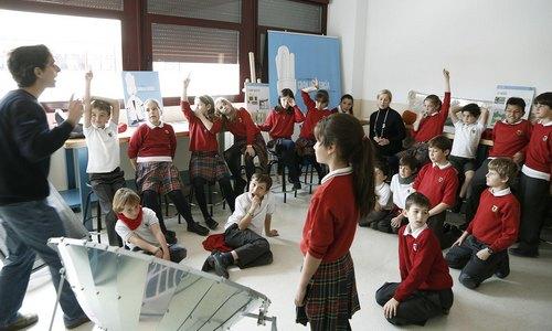 La energía al alcance de los escolares con el taller 'Granja Energía'