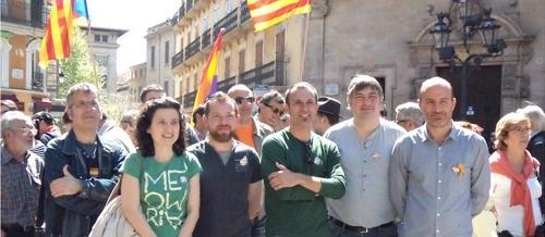 Medio centenar de personas homenajean en Palma a la República