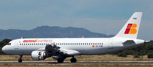 IBERIA Express tendrá vuelo directo entre Palma y Tenerife Sur
