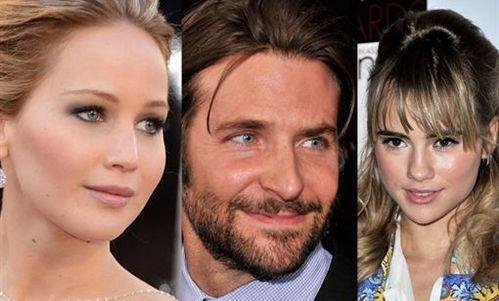 Jennifer Lawrence celosa de la nueva novia de Bradley Cooper