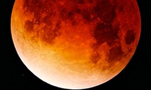 Eclipse parcial de Luna, visible hoy desde España