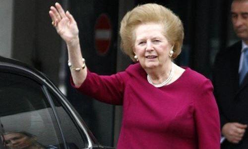 Fallece Margaret Thatcher de un infarto cerebral
