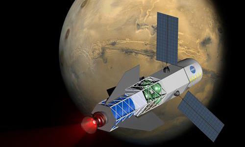 Diseñado un cohete tripulado que podría llegar a Marte en 30 días