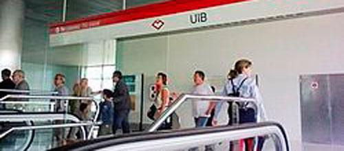 El Metro de Palma es el único que aumentó usuarios en febrero