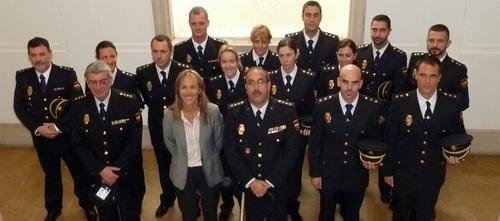 Llegan 13 nuevos inspectores de Policía
