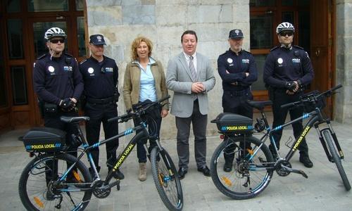 La Policía Local de Inca estrena una unidad ciclista