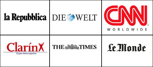 Discreto impacto de la noticia en la prensa internacional
