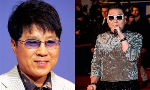 Psy desbancado por un cantante de 63 años