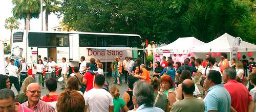 El Banc de Sang registró 40.000 donaciones en un año