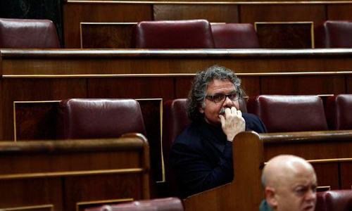 Tardà, expulsado de la tribuna del Congreso por hablar en catalán