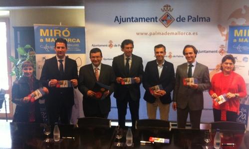 Palma se convertirá en 'Territorio Miró'