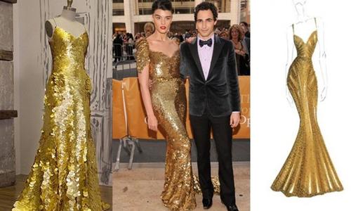 Un vestido de 1,5 millones de dólares