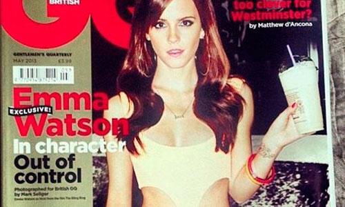 El posado sexy de Emma Watson