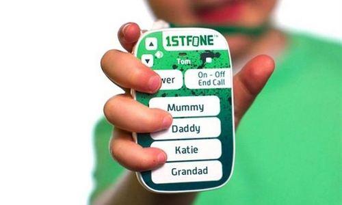 1stFone, un móvil para niños sin pantalla