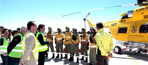 Campaña de incendios forestales sin recortes
