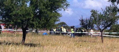 Tres muertos al estrellarse una avioneta en Marratxí