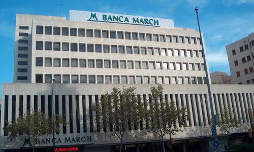 Banca March gana un 77,2% más en el primer trimestre del año